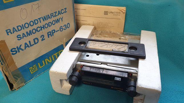 Unitra Diora Skald 2 RP-630 RADIO SAMOCHODOWE