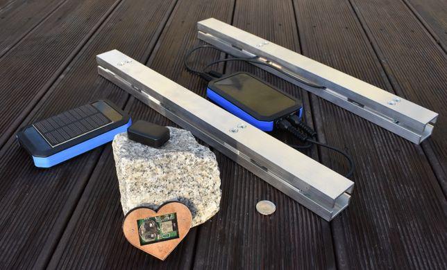 Bramka solarna 2G GSM do systemu pasiecznego, waga, monitoring
