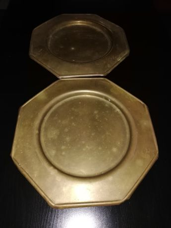 2 pratos metal