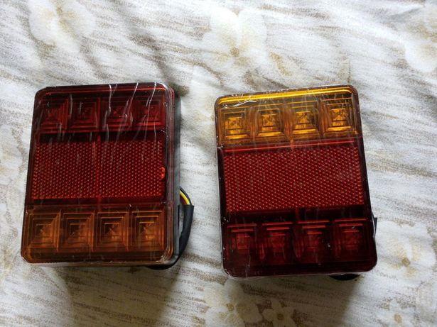 Farolins luzes de led, led matricula atrelado reboque trator