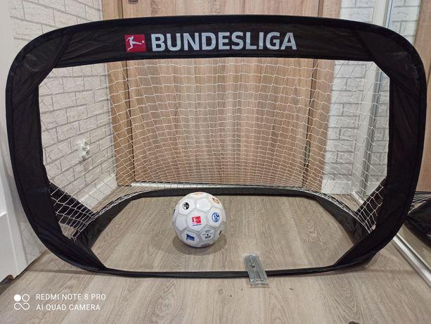 Zestaw 2 małe bramki + piłka Bundesliga NOWE