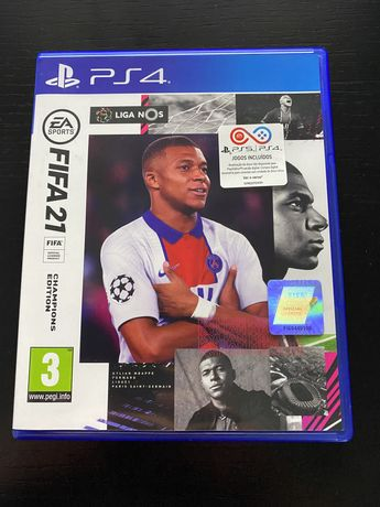FIFA 21 PS4/PS5 C/Caixa