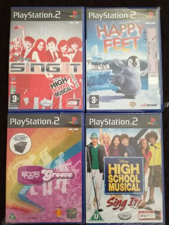 Jogos Novos PS2 (Ler descrição)
