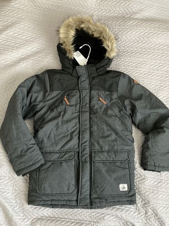 Куртка зимняя пуховик Zara Германия р. 134-140 см 9-11  лет
