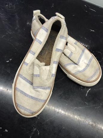 Zara buty espadryle trampki wsuwane dla chlopca rozmiar 26/27