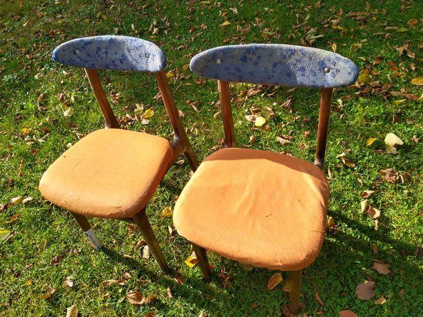 Krzesło,krzesła PRL A 5908 ,vintage