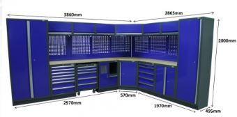 Mobiliário / Armários / Bancas de oficina á medida do seu espaço