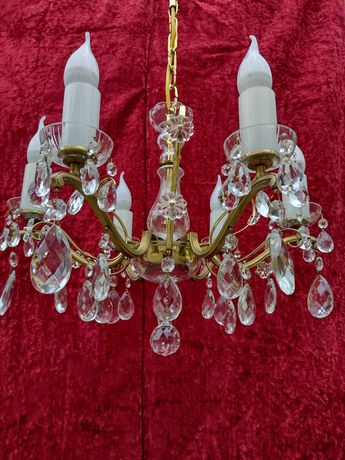 Хрустальная люстра Чехия богемия