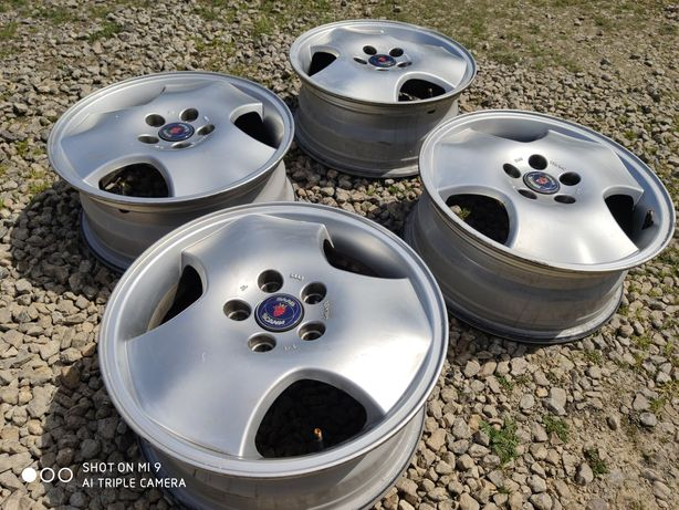 "Felgi aluminiowe 16"" 5x110 SAAB 9-3 , 9-5 900 , 900ng 9-5 oryginalne"