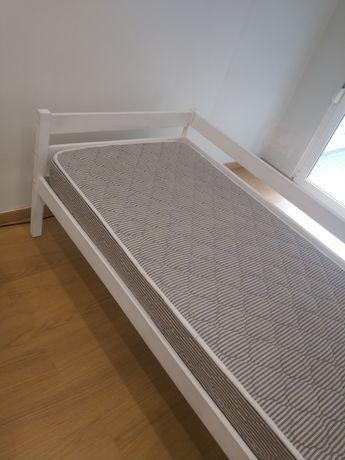 Cama solteiro 2x1m c/colchão