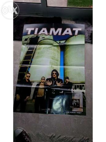 Poster RARO Promocional Tiamat