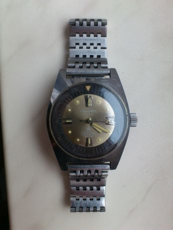 Szwajcarski zegarek Aquastar Diver 200m - Swiss Made