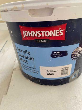 Краска Jonhstones слоновая кость