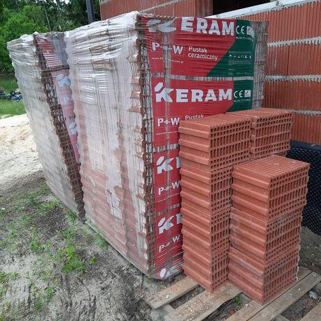 Bloczki, pustaki ceramiczne Keram 250x345x238 mm. Nowe