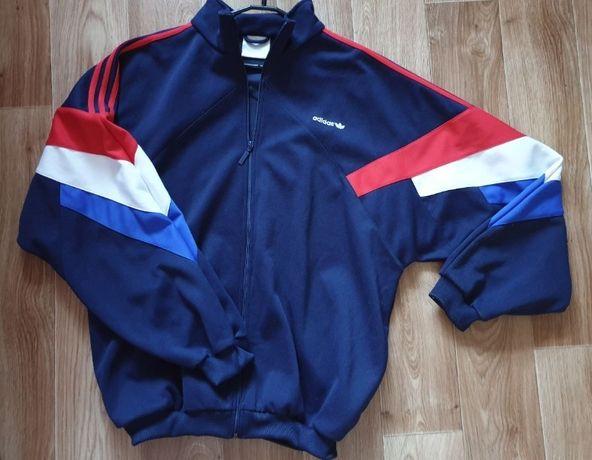 Винтажная ретро мастерка олимпийка куртка Adidas