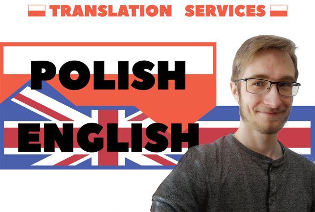 Tłumaczenie tekstów: Angielski - Polski
