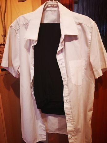 Koszula, spodnie galowe 134