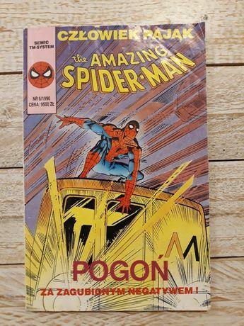 Człowiek Pająk. Spider-Man. Pogoń za zagubionym negatywem. 6/1990