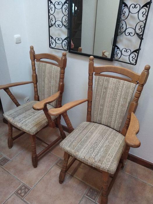 Krzesła dębowe 4 sztuki Lipy - image 1