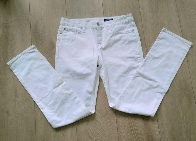 Spodnie jeansy Tommy Hilfiger białe oryginalne