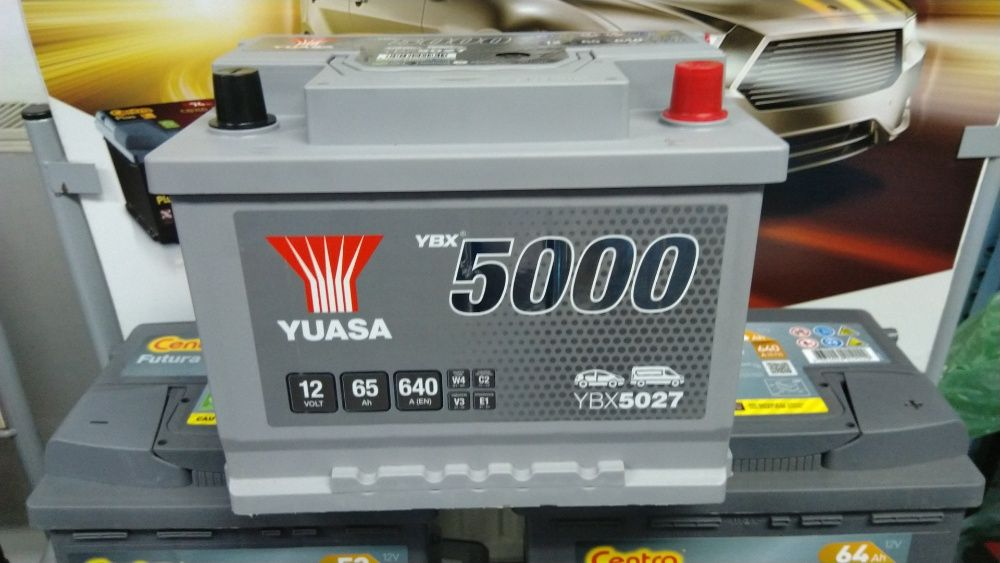 Akumulator YUASA YBX5027 12V 65Ah 640A P+ Kraków Kraków - image 1