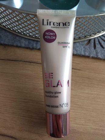 Podkład/fluid Lirene be glam rozświetlajacy
