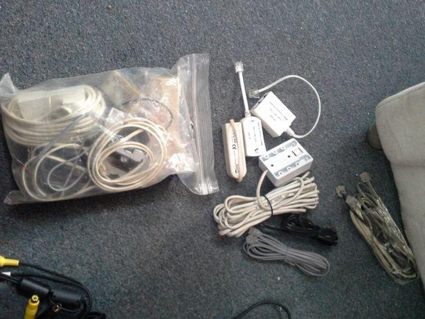 telefoniczne kable gniazdko komputerowe