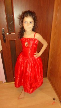 Strój karnawałowy suknia roz.134-140 cm