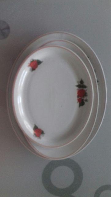 Półmiski porcelanowe polskie
