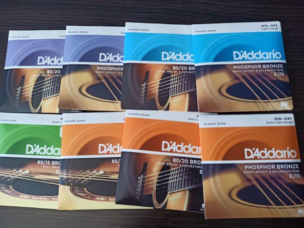 Струны и аксессуары для гитары