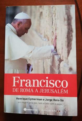 Livro Francisco de Roma a Jerusalém