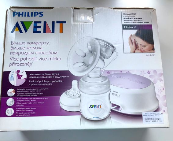 Молоковідсмоктувач Philips Avent, електричний.