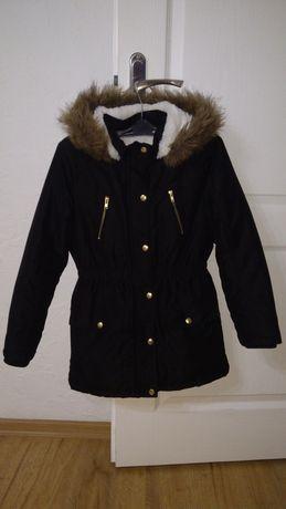 Kurtka zimowa,płaszczyk  ,ciepła , kożuszek,128-134 George !!!