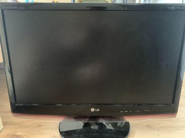 monitor LG 24 cale TV glosniki