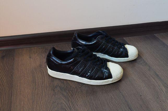 Кожаные оригинальные оригиналы  adidas superstar кроссовки,кроссы,кеды