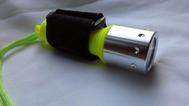 Фонарь подводный на оригинальном светодиоде CREE XMLT6 с аккумулятором