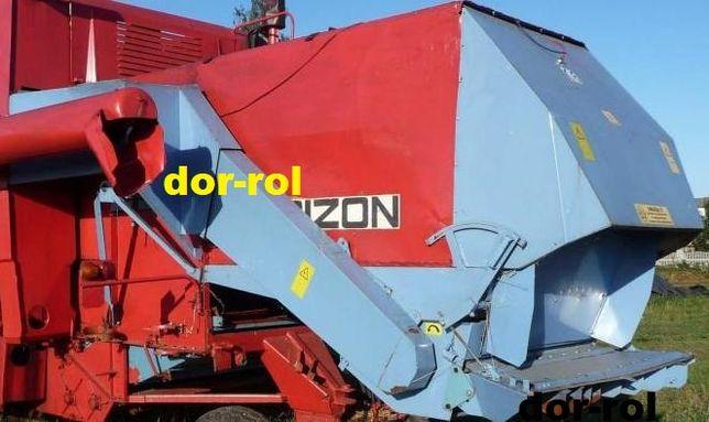 Rozdrabniacz sieczkarnia słomy BIZON Z-056 Super Z058 Rekord Wągrowiec