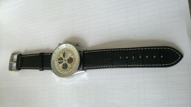 relogio BREITLING cronografo com movimento lunar quartz