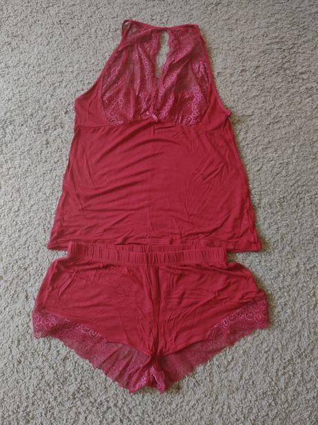 Piżamka damska (koszulka i spodenki) S/M