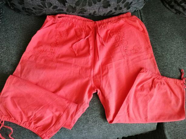 Spodnie 3/4, damskie 4xl