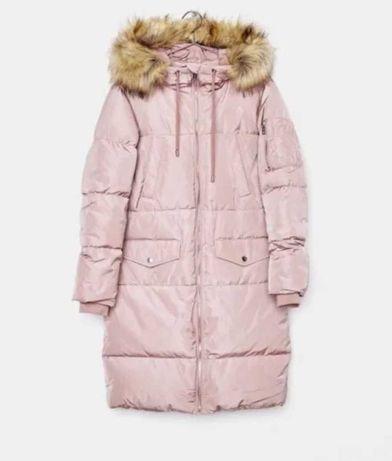 """Зимняя куртка, прямого покроя, фасон """"парка"""""""