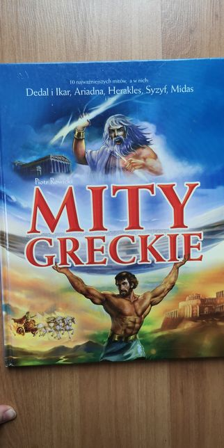 Mity Greckie książka dla dzieci