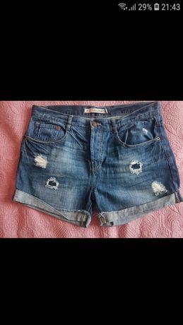 Jeansowe szorty ZARA