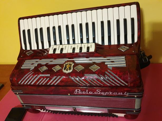 Sprzedam akordeon Paolo Soprani Musette 120 bas