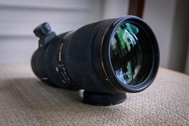 Obiektyw Sigma 70-200 F2.8 II APO EX DG Macro / mocowanie Nikon F