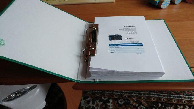 Instrukcja Panasonic DMC G7 i G70