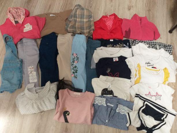 Paka, zestaw ubrań dla dziewczynki! Zara, Reserved, H&M! 104 cm!