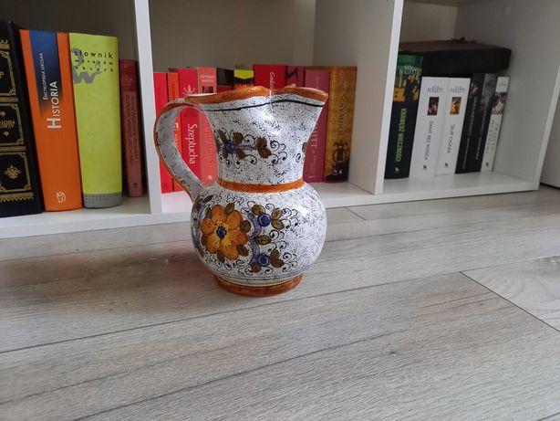 Ceramika dzbanek deruta
