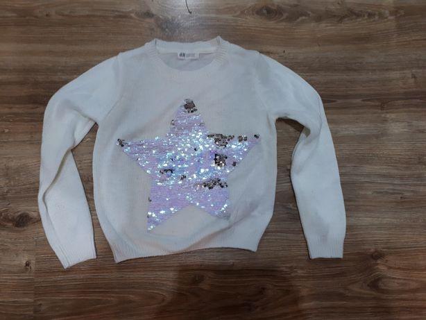Sweterek hm z gwiazdą