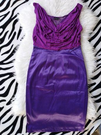 Sukienka fioletowa BodyFlirt roz 36